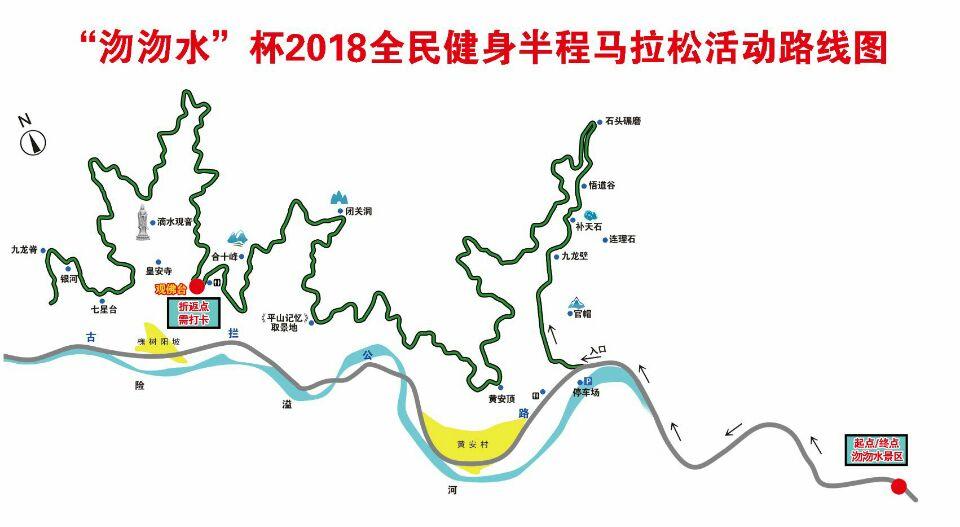 2018石家庄沕沕水半程马拉松参赛攻略